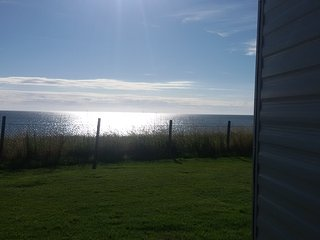 Caravan with Stunning Sea Views in Skipsea