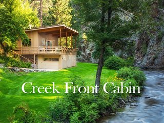 The Creek Front Cabin - Million Dollar Setting!, Rapid City