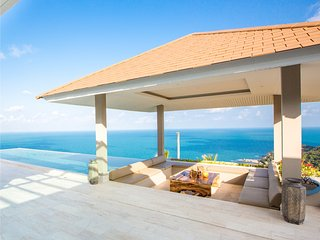 VILLA BELAIR -AMAZING SEAVIEWS-AUGUST SECIAL, Bophut