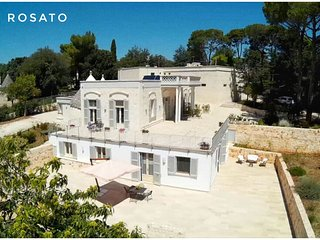 Villa Rosato- charming stay between Trulli and Sea, Selva