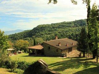Villa Bacche Rosse Poppi Tuscany Casentino