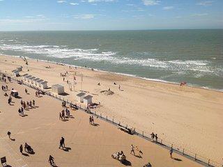Direct aan zee op toplocatie in Oostende