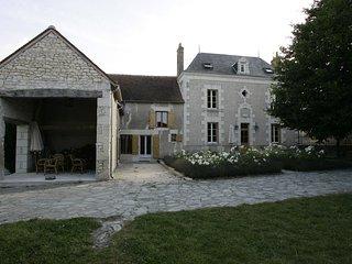 Karakteristiek landhuis 'Les Touches' Crouzilles