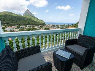 SAPPHIRE APARTMENT 4, ST. LUCIA - $1M VIEWS; GREAT LOCATION, SOUFRIERE