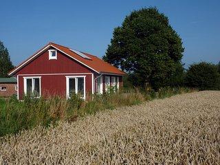 Urlaub im neuen Holzhaus, das Lindhus in Grödersby, Arnis