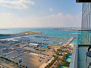 Open sea views at Dubai Marina 2br