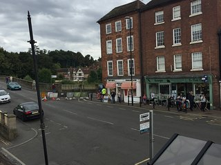 One bed flat in picturesque riverside town, Bewdley