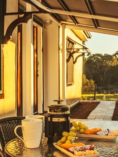 Breakfast outdoors - Room #1