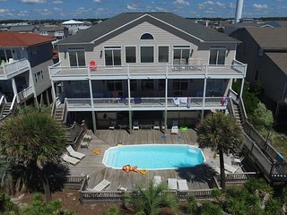 Oceanfront 12 Bedroom  #1 Beach Weddings/Retreats, Ocean Isle Beach