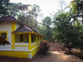 3 Bedroom Goan Portuguese Villa near Galgibag & Polem beaches