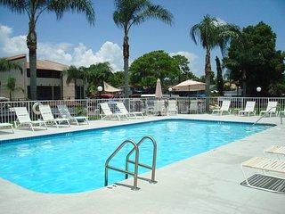 Lovely refreshing pool, solar heated.