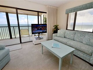 Ocean Sands 908, 3 Bedroom, Gulf Front, Pool, BBQ Area, Spa, Sleeps 6, Madeira Beach