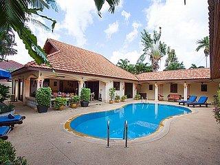 Majestic Asian 5 bed villa at Rawai, Kata Beach