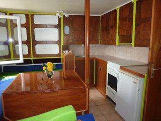 Appartement calme avec jardin rdc villa proche mer, Carnon