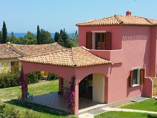 OGLIASTRA Villa Beach 5 min walk, Sea View, Tertenia