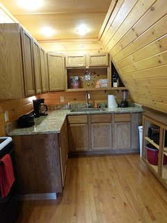 Full Kitchen with appliances and all Utensils and Dishware