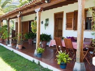 Casa acogedora en finca de plátanos-Vistas al mar, La Orotava
