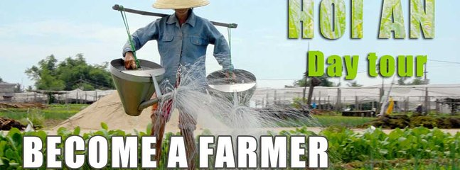 Become Farmer in Hoi An with biking and cooking, Dien Duong
