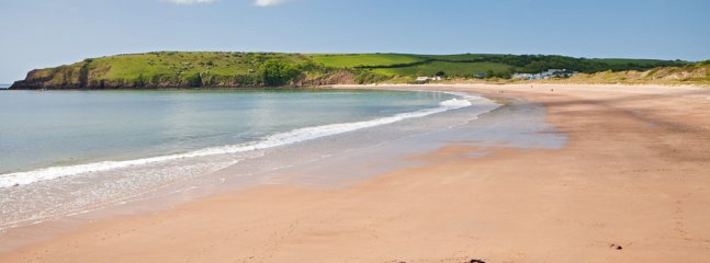 Freshwater East, our local beach minutes away