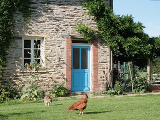 Teasel Cottage Organic Rural Hideaway in France, La Cellette