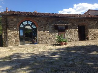 an elegantly renovated granary, Vaglia