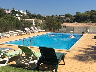 Communal pool.