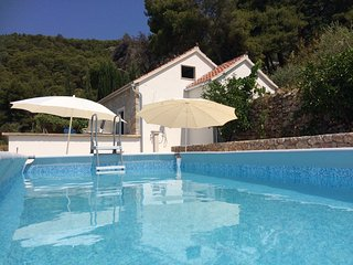 Home in vineyard with sea view/pool - villa Nina, Bol