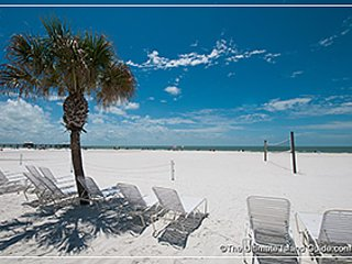 Open your door to gorgeous  sandy beaches on the Gulf of Mexico