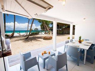 Villa 2 chambres sur la plage du Diamant, Le Diamant