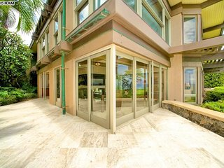 Exceptional ocean and sunset views along with brea, Wailea