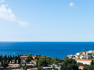Rooms Rita - Double Room with shared Bathroom and Terrace with Sea View (No.2), Dubrovnik
