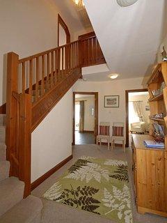 Cardigan Bay modern holiday home - entrance hall