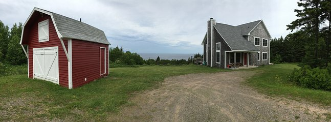 Front of House (panorama view)