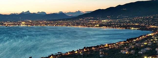 Kalamata city by night