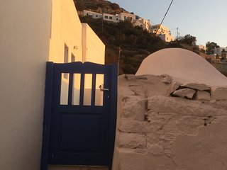 Beautiful view from Potamos, Aegiali