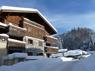 B7, smart ski apt, sleeps 5, secure parking, Les Carroz-d'Araches