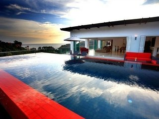 Fabulous three bedroom sea view penthouse with private pool, Kamala