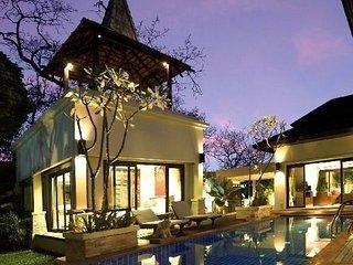 Luxury spacious three bedroom pool villa in Layan, Nai Thon