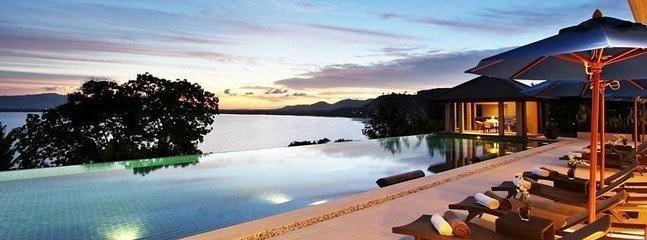 Luxurious Ocean Front 4 Bedroom villa, Pa Khlok