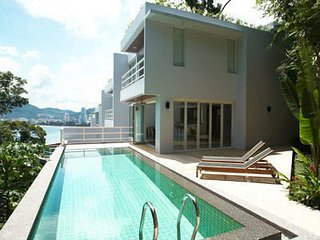 Three-leveled 3 bedroom Patong villa with large pool