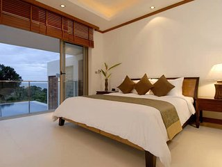 Luxury four bedroom pool villa with the sea view in Kata, Kata Beach