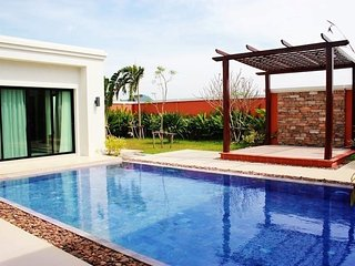 2 and 3 bedrooms pool villas at gated village, Nai Thon