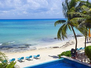 Oceanfront 3 Bdrm with pool!! Luna Encantada B2 - 35% off, Playa del Carmen