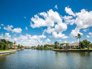 Beautiful, Waterfront Marco Island, Florida home with water views from every roo