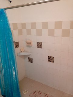 Shower upstairs