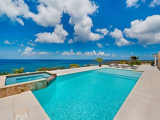 Dreamin Blue at Happy Bay, Saint Maarten - Ocean View, Pool, Walk to the Beach