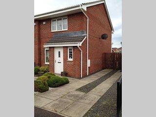 Lovely 3-bedroom house near Hampden, Glasgow