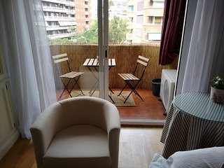 Classic apartment near Camp Nou, Barcelona