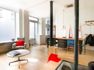 Atelier/Loft St Martin-Marais, París