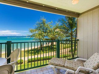 Pono Kai Resort A305, Oceanfront, Walk to Town, Steps to Sandy Beach